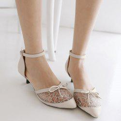 Bowknot Mesh Pumps