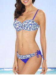 Push Up Floral Bikini