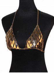 Triangle Bra Beach Bikini Body Jewelry