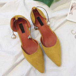 Pointed Toe Srange Style Pumps