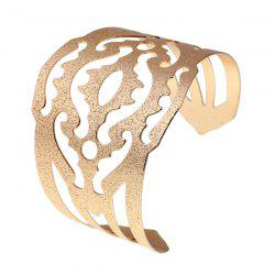 Vintage Alloy Gold Plated Cuff Bracelet