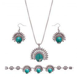 Rammel Peacock Jewelry Set