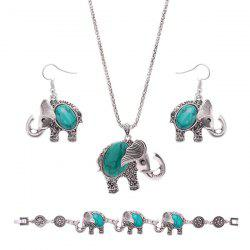 Rammel Elephant Jewelry Set