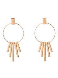 Circle Bars Earrings