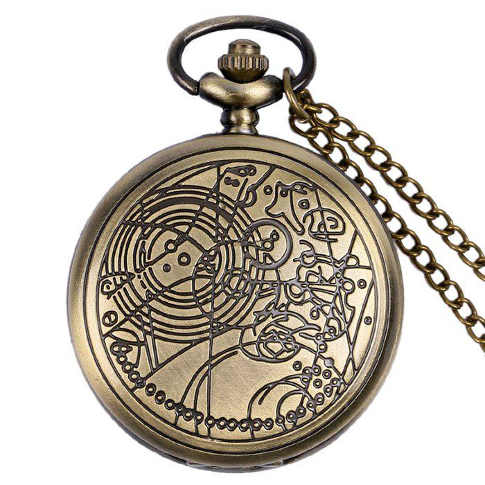 Carved Case Number Vintage Pocket WatchJEWELRY<br><br>Color: COPPER COLOR; Gender: For Unisex; Style: Retro; Type: Pocket watch; Index Dial: Analog; Case material: Alloy; Band material: Alloys; Movement: Quartz; Dial Shape: Round; Water-Proof: No; Case Thickness(MM): 15cm; Dial Diameter: 4.8cm; Band Length(CM): 80cm; Package Contents: 1 x Watch;