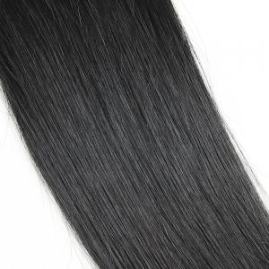 3 Pcs droite Vierge Dyeable Human Hair Weave -