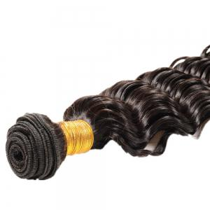 3 шт Deep Wave Dyeable Virgin Human Плетение волос -
