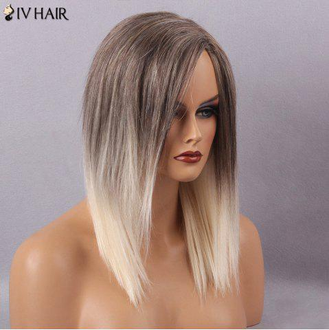 Store Siv Hair Long Straight Side Part Capless Human Hair Wig - COLORMIX  Mobile
