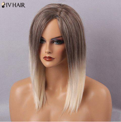 Buy Siv Hair Long Straight Side Part Capless Human Hair Wig - COLORMIX  Mobile
