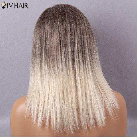 Hot Siv Hair Long Straight Side Part Capless Human Hair Wig - COLORMIX  Mobile