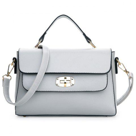 Store Faux Leather Metal Detail Handbag