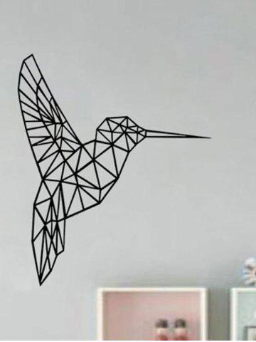 Store Geometry Bird Removable Decorative Sticker For Wall - 43*52CM BLACK Mobile