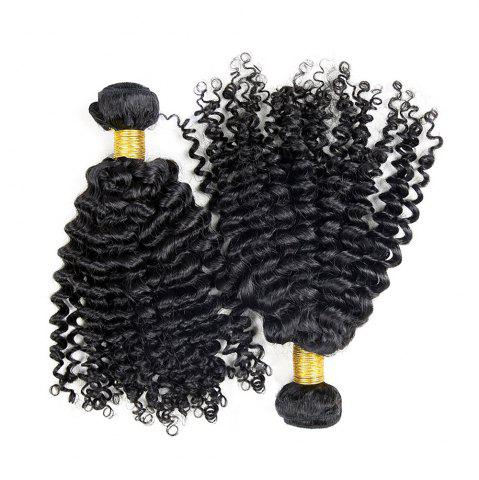 3 шт Virgin Deep Wave Dyeable Human Плетение волос