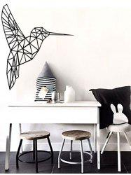 Geometry Bird Removable Decorative Sticker For Wall