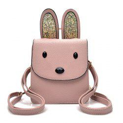Sqeuined Rabbit Ears Mini Backpack