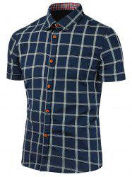 Checked Short Sleeve Shirt