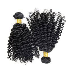 3 шт Virgin Deep Wave Dyeable Human Плетение волос -