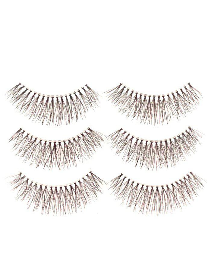 Best 3 Pairs Fake Eyelashes with Glue