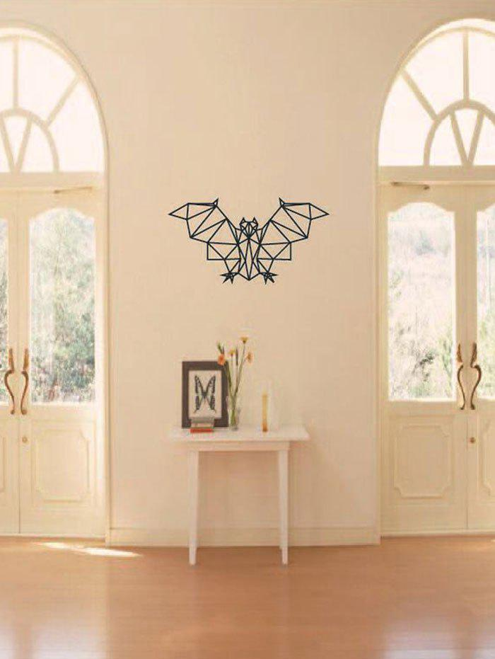 Geometric Bat Print Waterproof Wall Art Sticker