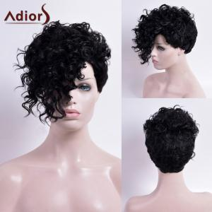 Adiors Short Capless Curly Synthetic Wig