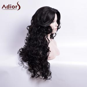 Adiors Long Curly Middle Part Capless Synthetic Wig -