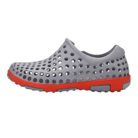 New Hollow Out Antiskid Shoes - 45 GRAY Mobile