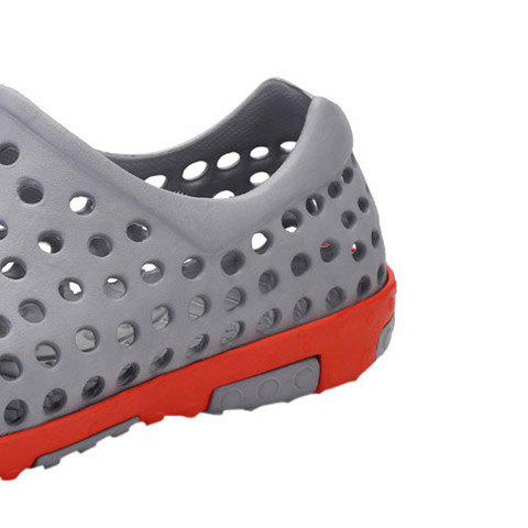 Chic Hollow Out Antiskid Shoes - 45 GRAY Mobile