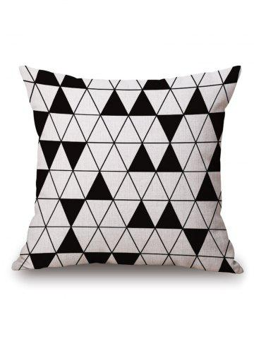 Cheap Triangle Geometric Printed Pillow Case - 45*45CM OFF-WHITE Mobile