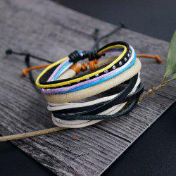 Faux Suede Layered Friendship Bracelets