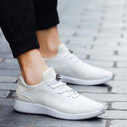 Breathable Stretch Fabric Athletic Shoes -