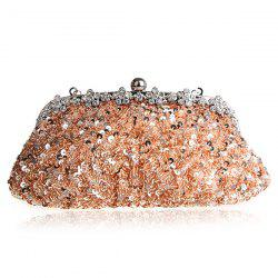 Rhinestone Sequins Clutch Evening Bag