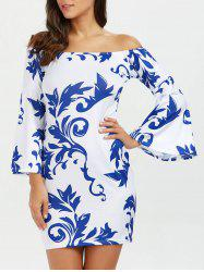 Casual Off The Shoulder Bodycon Dress