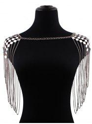 Geometric Fringed Shoulder Jewelry
