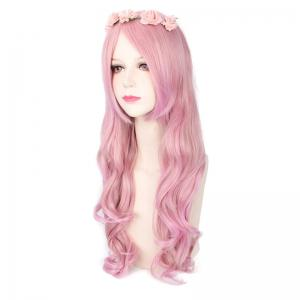 Harajuku Long Wavy Side Bang Cosplay Lolita Synthetic Wig -