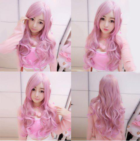Trendy Harajuku Long Wavy Side Bang Cosplay Lolita Synthetic Wig