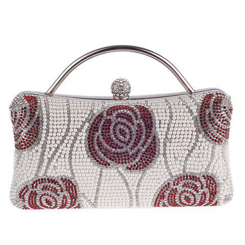 Discount Flower Pattern Beaded Bags