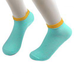 Knitted Breathable Ankle Socks -