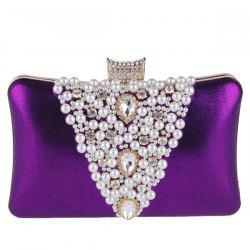 Rhinestone Beaded Evening Bag