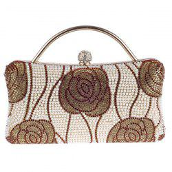 Flower Pattern Beaded Bags