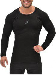 Stretch Muscle Long Sleeve Tee