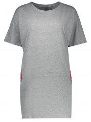 Plus Size Casual Tunic Tee
