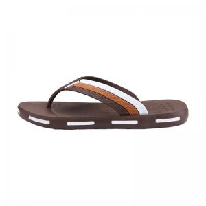 Star Letter Pattern Flip Flops - BROWN 43
