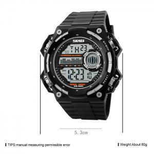 SKMEI Outdoor Alarm Luminous Digital Watch -