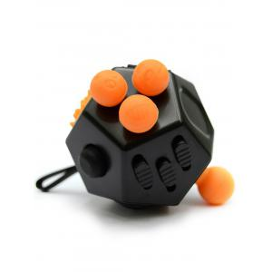 Anti Stress Squeeze Finger Fidget Toy with 12 Sides -