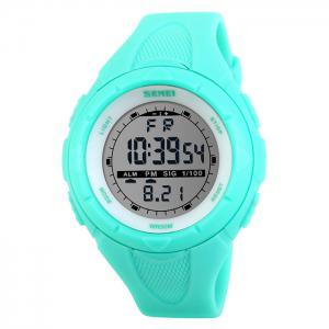 SKMEI Outdoor Luminous Digital Sports Watch - Lake Blue