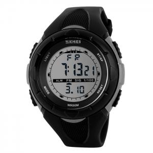 SKMEI Outdoor Luminous Digital Sports Watch - Gray