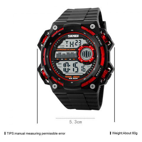 Outfits SKMEI Outdoor Alarm Luminous Digital Watch - RED  Mobile