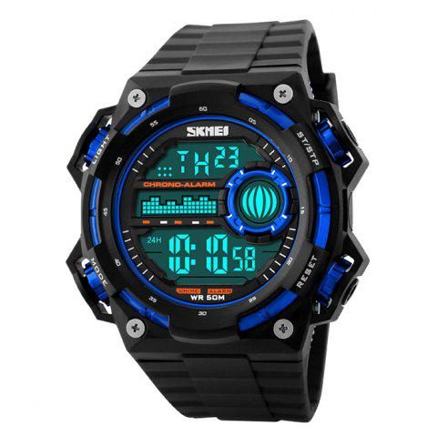 Store SKMEI Outdoor Alarm Luminous Digital Watch BLUE