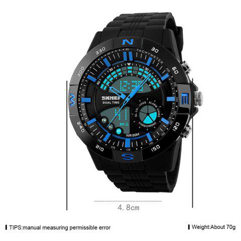 Store SKMEI Outdoor Timer Tachymeter Digital Sports Watch - BLUE  Mobile