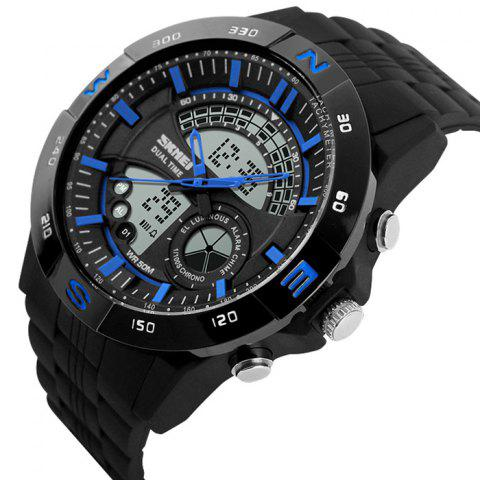 Outfit SKMEI Outdoor Timer Tachymeter Digital Sports Watch - BLUE  Mobile